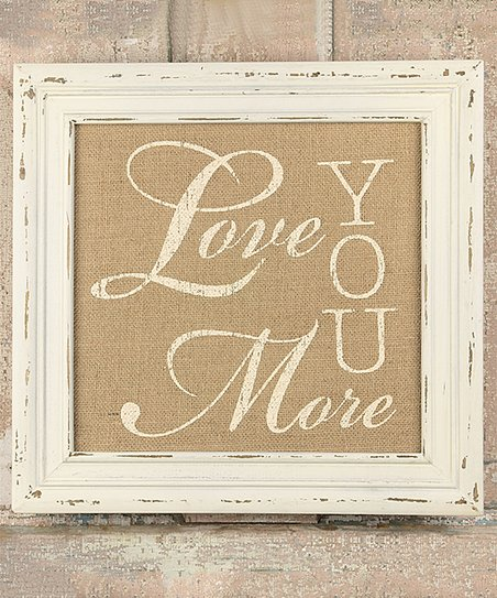 Honey And Me Love You More Frame Zulily