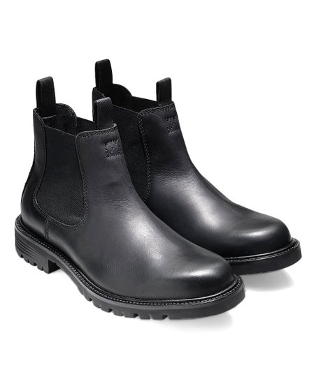 Cole Haan Black Grantland Chelsea Boot   Zulily
