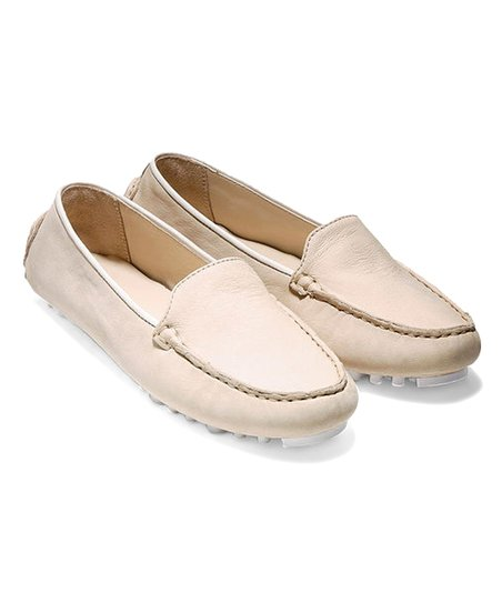 ae1a8d632ac love this product Sandshell   White Hanneli Driver II Nubuck Loafer