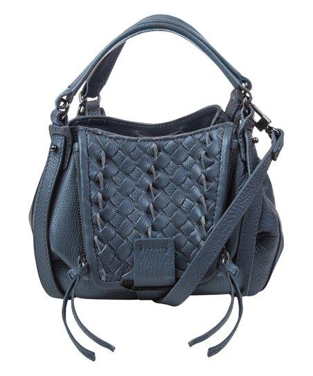 e73dc37f5e love this product Steel Blue Mini Jonnie Leather Crossbody Bag