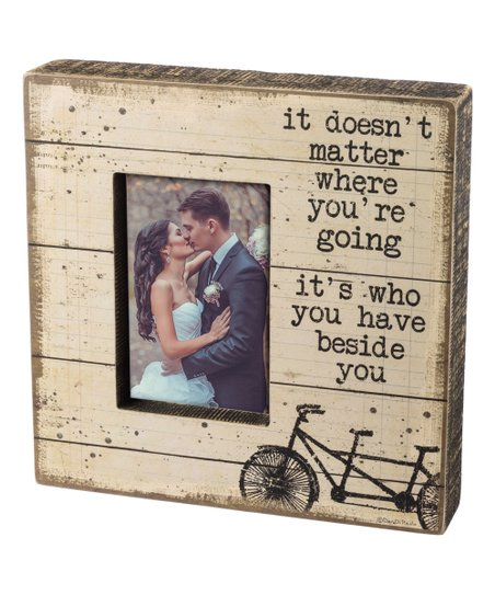Primitives By Kathy Beside You Slatted Wood Box Frame Zulily