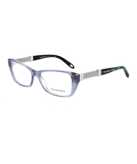 fdd8448f95c Tiffany Co Crystal Gray Rectangle Eyeglasses Zulily