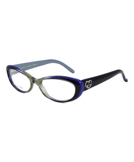 6bda80d1ae love this product Green   Violet Cat-Eye Eyeglasses