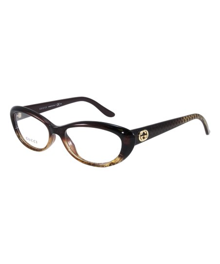 5b406cc3f73 love this product Brown   Gold Cat-Eye Eyeglasses