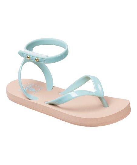 00e03b52fd906f love this product Mint Little Stargazer Wrap Sandal - Kids