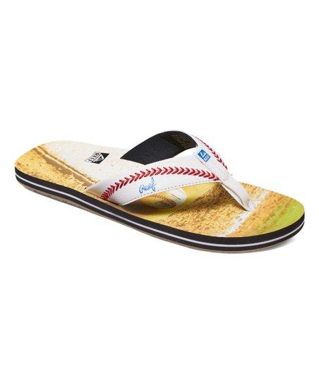 65a1caeb7540 Reef Green Baseball Baseball Sandal - Men