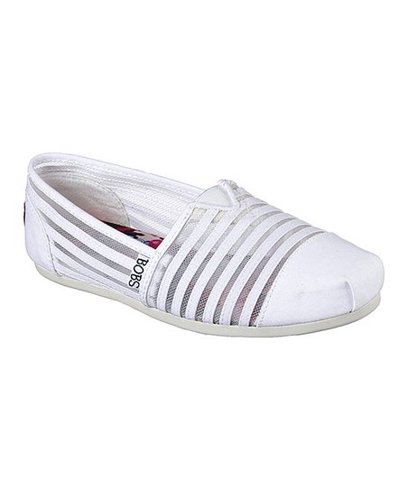 79c715c0e37a BOBS from Skechers White Bobs Plush Adorbs Slip-On Shoe