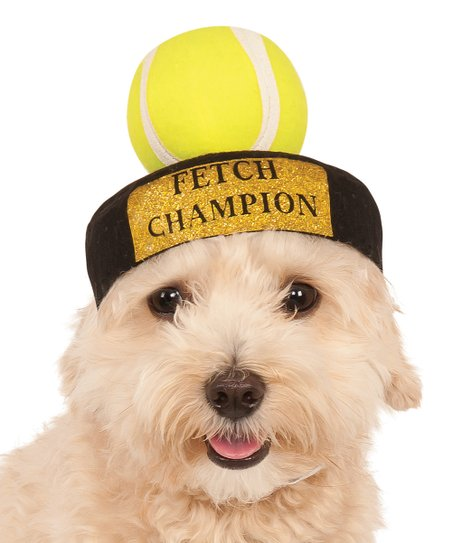 Fetch Champion Tennis Ball Pet Costume