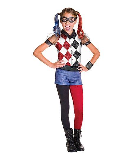 Ltx Sportswear Dc Super Hero Girls Harley Quinn Dress Up Set Kids