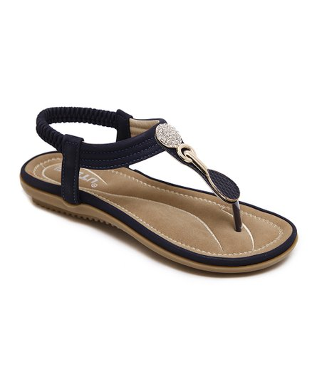 c204ebdfb0c6 love this product Navy Medallion-Accent Sandal - Women
