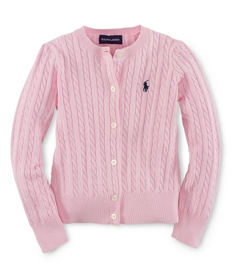 1d0890a1f64f93 love this product Resort Pink Cable-Knit Cardigan - Toddler, Girls & Juniors