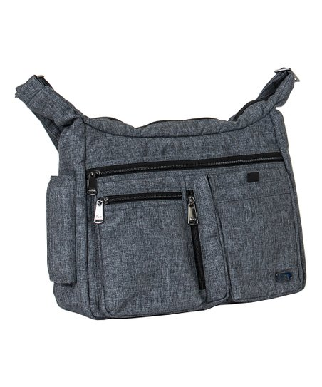 20a8db71a4cd Lug Heather Gray Double Dutch Crossbody Bag | Zulily