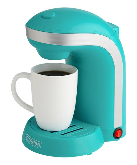 Turquoise Single Serve Coffee Maker Mug Set