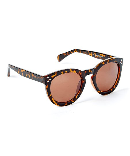 00a9e7a0bf677 Franco Sarto Brown Tortoise Frame   Brown Lens Sunglasses