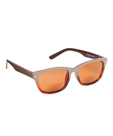 56ce6ffbf7f7 Paws N Claws Gray   Black Square Reader Sunglasses
