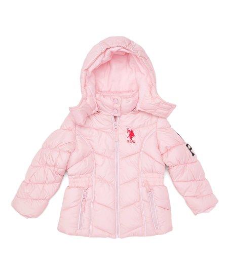 Jacket Lady Blouson sPolo AssnPink Puffer U Hooded PkiuXZ