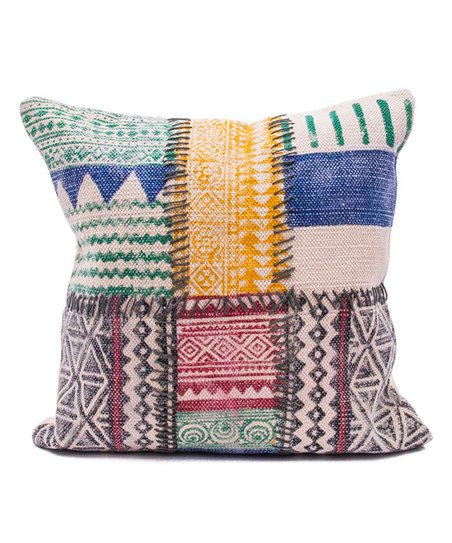love this product Orange   Red Patchwork Throw Pillow 1982925b33