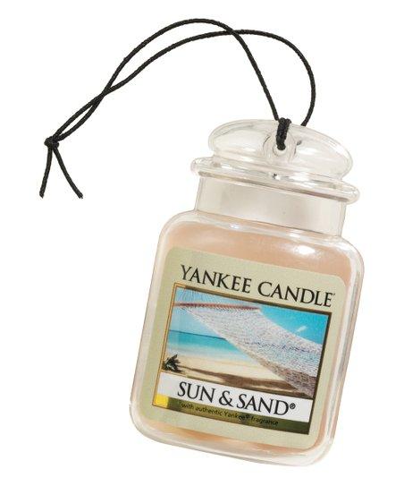 Yankee Candle Sun & Sand Car Jar Ultimate Air Freshener - Set of Three