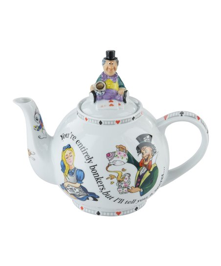 Cardew Design Alice In Wonderland 30 Oz Mad Hatter Teapot Zulily