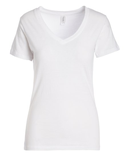 love this product White V-Neck Tee - Women 6ea4a5b3b