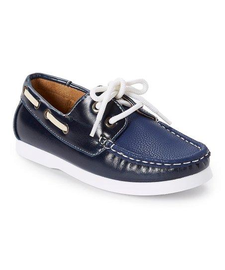 Easy Strider Navy \u0026 White Boat Shoe