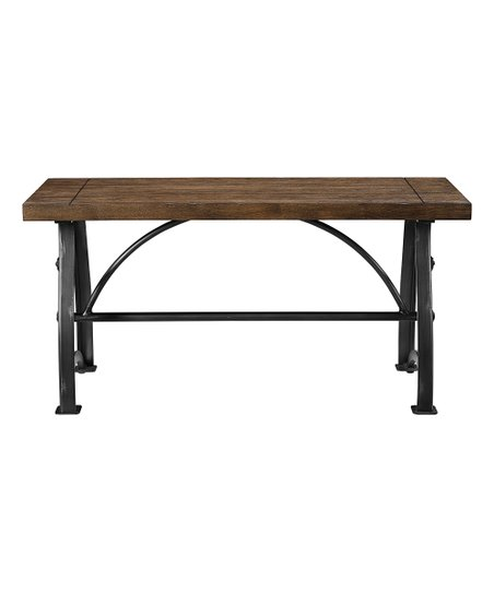 Phenomenal Pulaski Rosebank Wood Metal Dining Bench Gmtry Best Dining Table And Chair Ideas Images Gmtryco