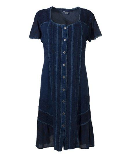 Coline Jean Shirt Dress - Women & Plus | Zulily