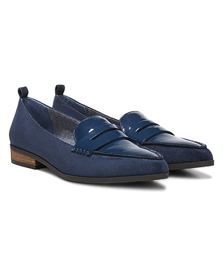 b75784f313a Dr. Scholls Elegant Navy Eclipse Loafer - Women