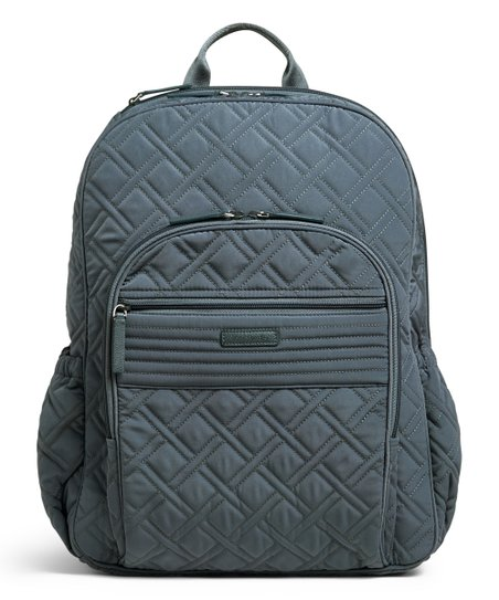 e8258f3f87 Vera Bradley Charcoal Campus Tech Backpack