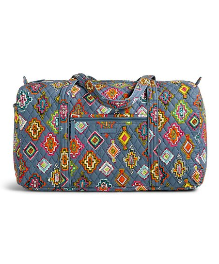 Painted Medallions Large Duffel
