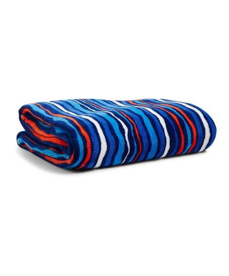 Vera Bradley Cobalt Stripe Throw Blanket  a6c6f1e8f