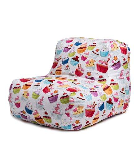 Astounding Wow Works Cupcakes Beanbag Chair Zulily Machost Co Dining Chair Design Ideas Machostcouk