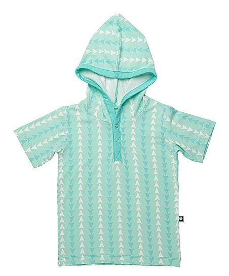 Toddler Green Arrow Hooded Sweatshirt