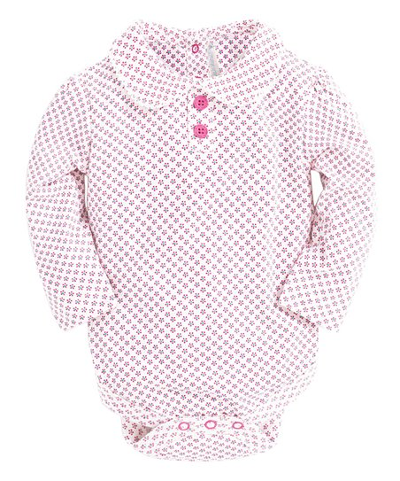 041e42302 JoJo Maman Bébé Cream Ditsy Floral Peter Pan Collar Bodysuit ...