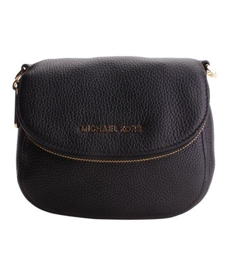 316b1f5e7c03 Michael Kors Black Bedford Flap Crossbody Bag | Zulily