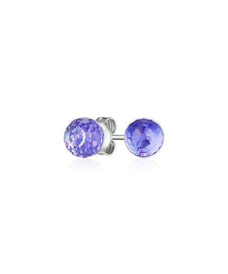 69d02cffe7 MESTIGE Haley Violet Stud Earrings With Swarovski® Crystals