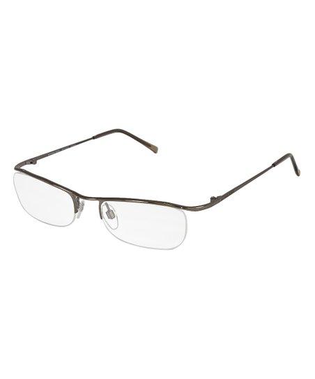 2d0d3114cf8b Michael Kors Brown Wire-Rim Eyeglasses