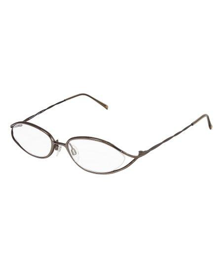 2f7df7239a0f Michael Kors Brown Cutout Eyeglasses | Zulily
