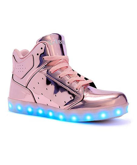 pretty nice 3622a b3726 love this product Rose Gold Light-Up Hi-Top Sneaker