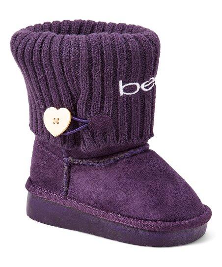 bebe girls Purple Light-Up Boot | Best