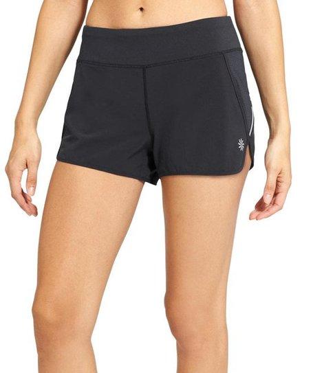 94e180c6cb Athleta Black Track This Run Shorts - Women | Zulily
