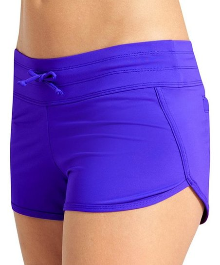 d9c296492c2 love this product Powerful Blue Kata Swim Shorts - Women