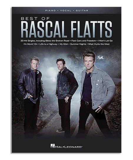Hal Leonard Best of Rascal Flatts Piano, Vocal & Guitar Music Book