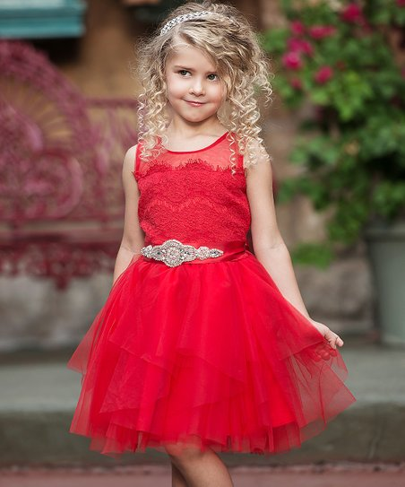 3cfca6beefd love this product Red Fairytale Dress - Infant