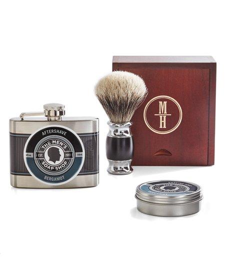 RedEnvelope Circle Monogram Men's Shave Set
