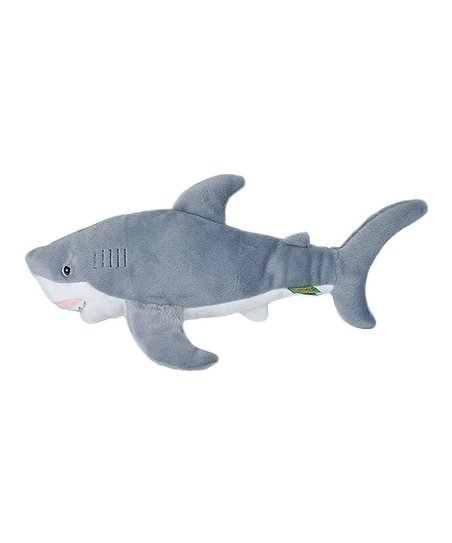 Wild Republic Great White Shark Plush Toy Zulily