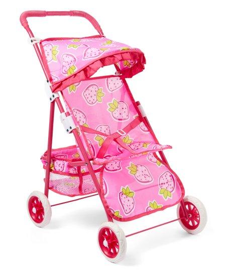 5ec7c436578c3 ... Tinkers Doll Twin Stroller Pink BIG W ...