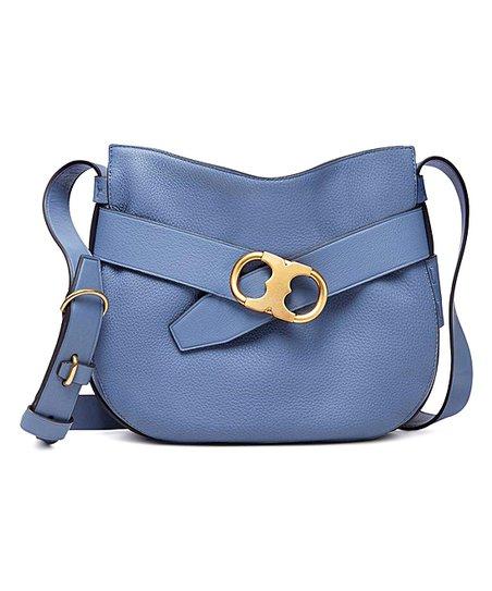 6f92d9895655 love this product Wallis Blue Gemini Link Leather Crossbody Bag