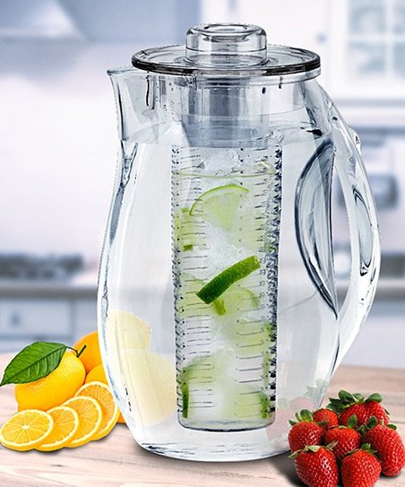956bb7782a Gourmet Home Products 84.5-Oz. Fruit Infusion Water Pitcher | Zulily