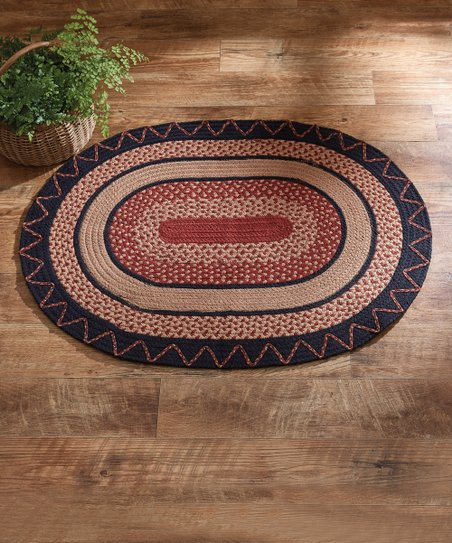 Park Designs Zigzag Oval Rug Zulily